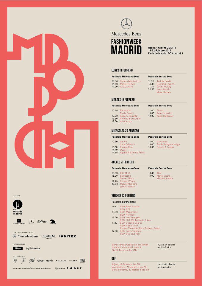 Calendario MBFWM