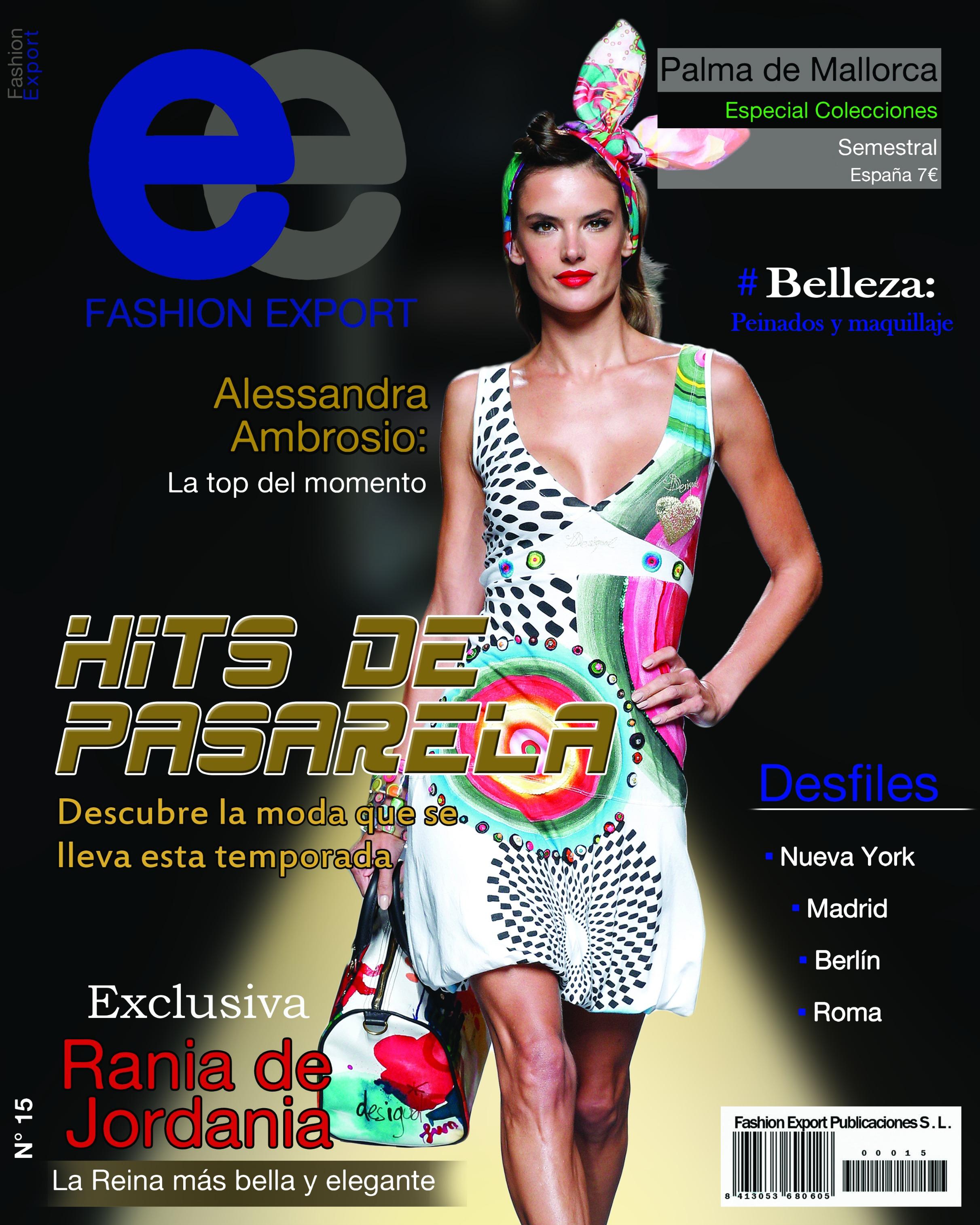 Fashion Export Especial Pasarelas