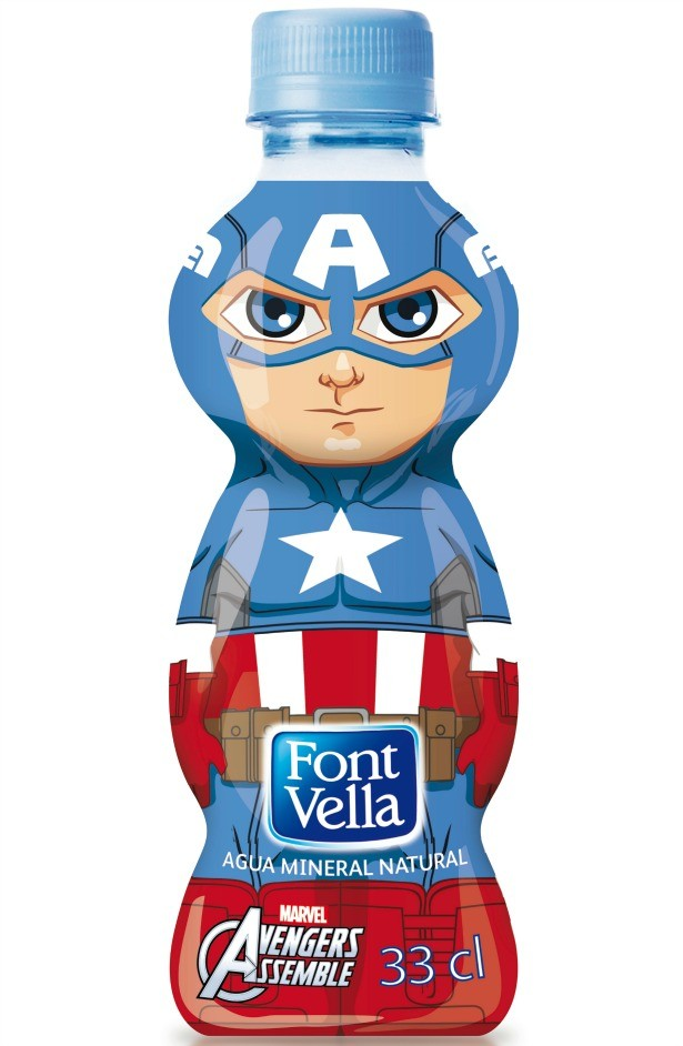 Botella Capt.America