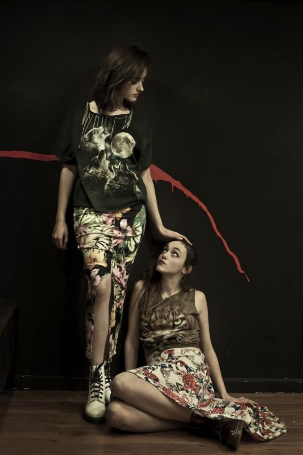 Rojo - G R E E N F R E N Z Y SS 2015 collection por Carmen Bizarre © Antonio Soto