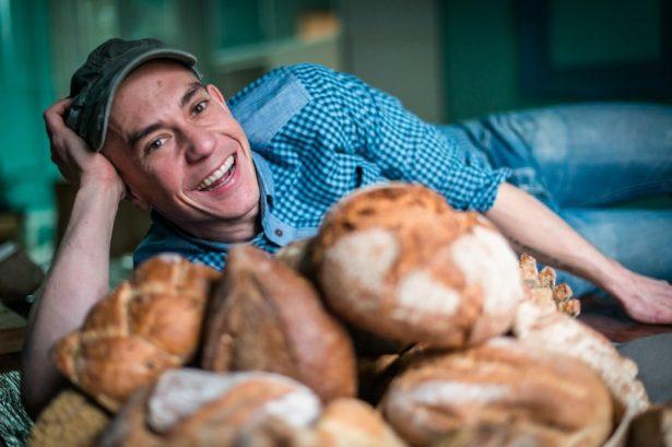 Moncho López, propietario de las panaderías Levadura Madre.