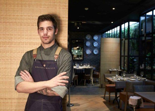 Jorge Vico, chef Montes de Galicia
