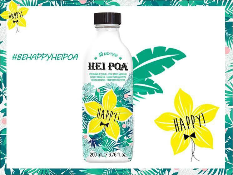 Celebra con HEI POA, sus 40 años de belleza exótica y ¡Be HAPPY! Image