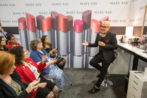 Luis Casco is named Global Beauty Ambassador for Mary Kay Inc. In this new role , Casco will advise Mary Kay and its independent sales force on topics including product development, color education, sales education and social influencer events. (PRNewsFoto/Mary Kay Inc.)