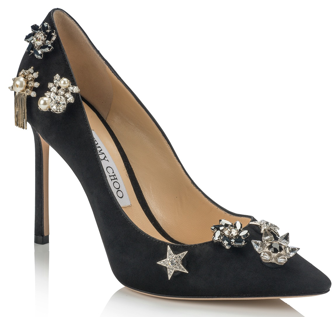 jazz-110-suede-buttons-black-front-view