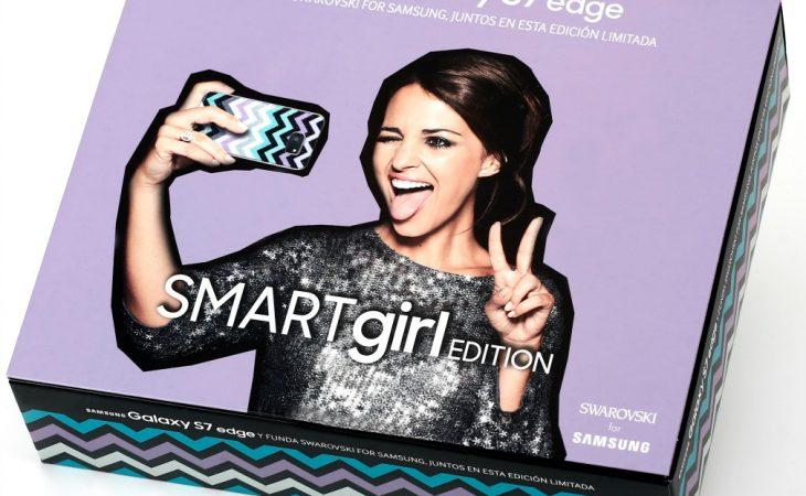 Samsung Galaxy S7 edge SMARTgirl Edition con carcasa de cristales de Swarovski Image