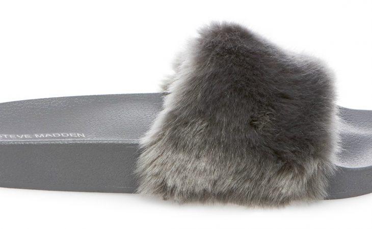 Mima tus pies con el modelo Softey de Steve Madden, una divertida chancla con peluche Image