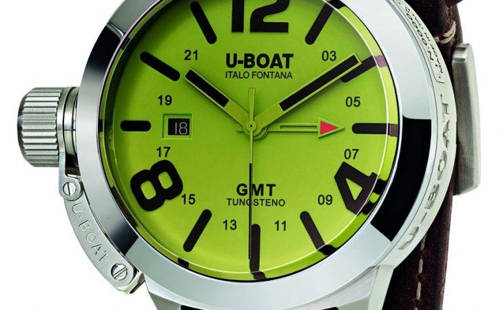U-BOAT CLASSICO GMT: Relojes que cambian de color con la luz Image