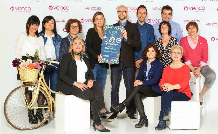 """Venca facilita 89 bicicletas a Fundación Vicente Ferrer en el proyecto """"Acortando distancias"""" Image"""
