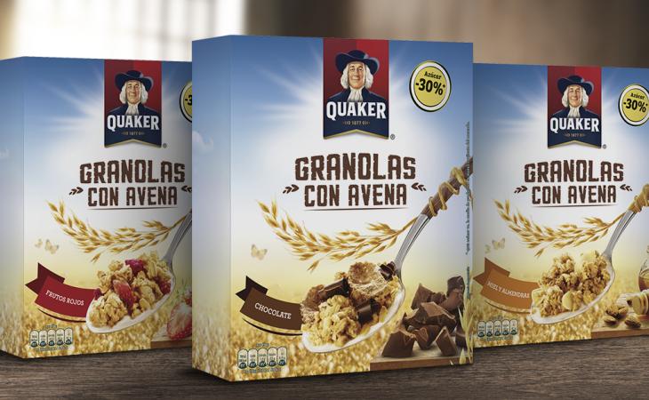 Quaker amplía su gama de productos en España con las nuevas Granolas con Avena Image