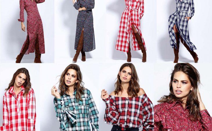 Colección Nomadic de la firma Imiloa, vestidos y camisas en tejidos liberty y cuadros Image