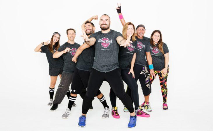 Hard Rock Cafe Barcelona organiza su tercer Zumbathon Solidario en beneficio de la Fundación Fero Image