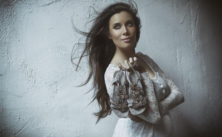 Pilar Rubio imagen de campaña S/S18 de la firma Alma en Pena Image