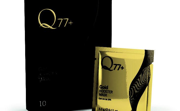 La mascarilla vuelve a tu rostro con partículas de oro Q77+ Image