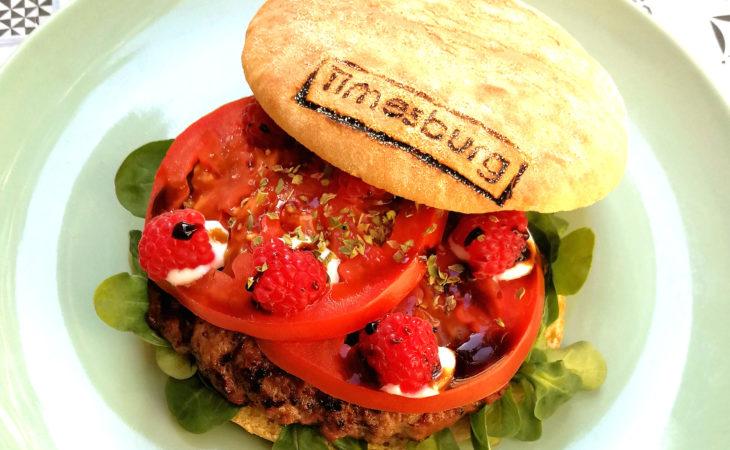 Red Feta Burg, la burger con frambuesas de Timesburg Image