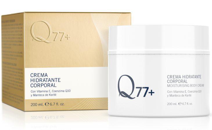 Q77+ te presenta su nueva crema corporal Image