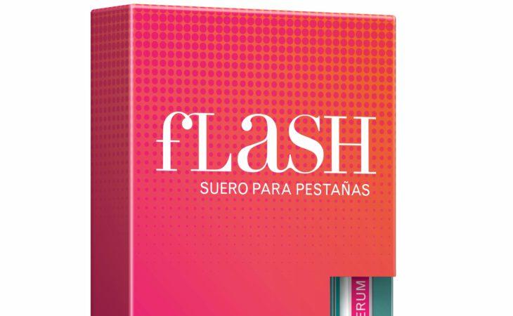 Objetivo pestañas: más largas, más gruesas y más fuertes con FLASH Image