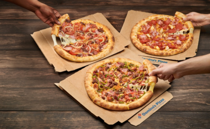Domino's Pizza lanza Roll Extra Image
