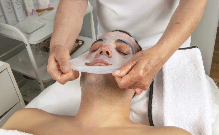 Facial oxigenante con vitamina C… para hombres Image