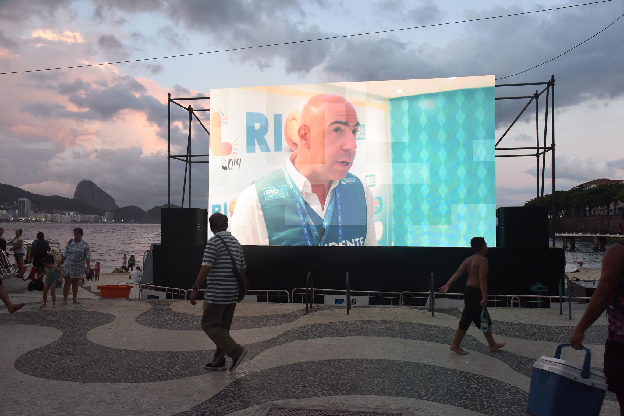 Réveillon Rio 2020 - Praia de Copacabana - Rio de Janeiro. 31.12.2019. Photo: Alexandre Macieira / Riotur.