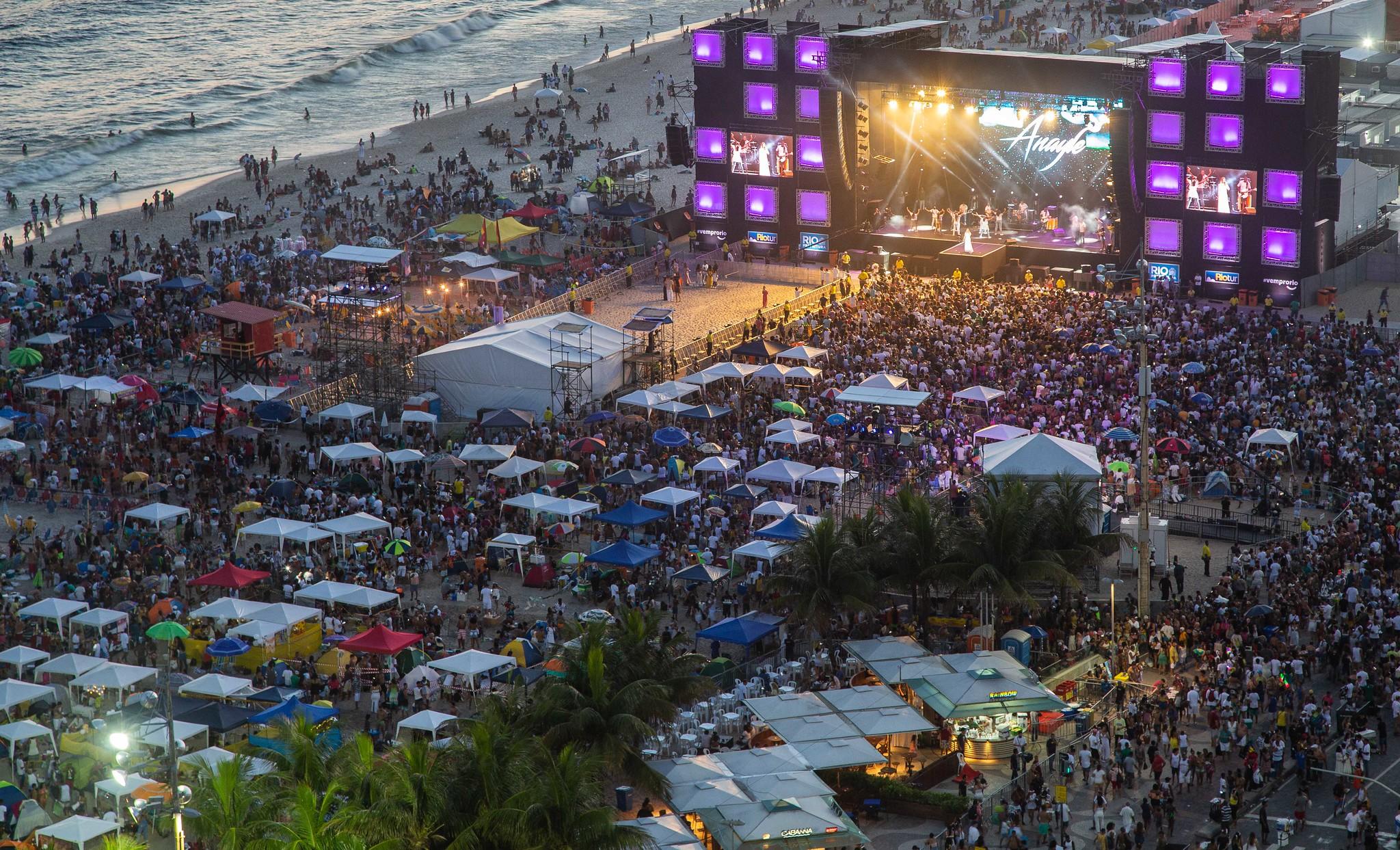 Réveillon Rio 2020 - Praia de Copacabana - Rio de Janeiro. 31.12.2019. Photo: Fernando Maia / Riotur.