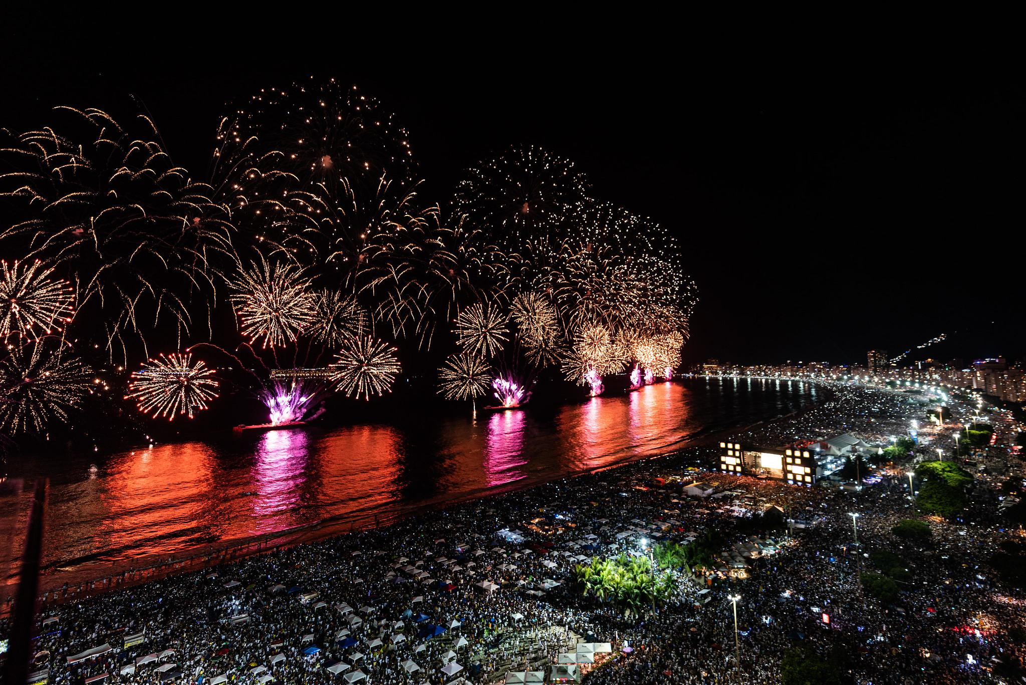 Réveillon Rio 2020 - Dj Mangueira - Praia de Copacabana - Rio de Janeiro. 01.01.2020. Photo: Alex Ferro / Riotur.