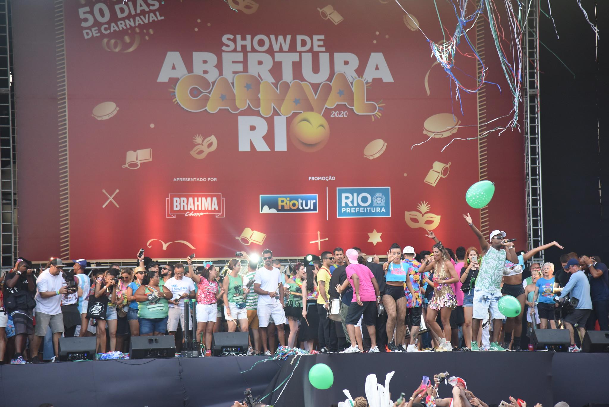 Abertura do Carnaval Rio 2020 - Foto: Alexandre Macieira | Riotur