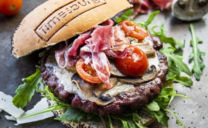 Timesburg presenta su hamburguesa más mediterránea Image